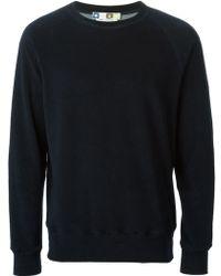 MSGM Crew Neck Sweatshirt - Lyst