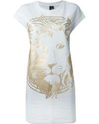 Versus  Lion Print Tunic - Lyst