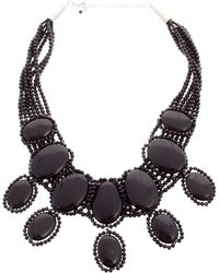 Coast - Elizabeth Black Necklace - Lyst