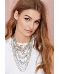 Nasty Gal Empire Necklace - Lyst
