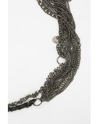 Pins And Needles - Chained Belt - Lyst