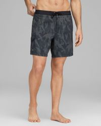 John Varvatos - Collection Jam Camo Swim Trunks - Lyst
