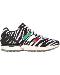 Adidas Originals By Italia Independent Zx Flux Love Parade Sneakers - Lyst