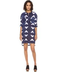 Antik Batik Blue Ange Dress - Lyst