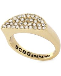 BCBGeneration - Under The Half Moon Sparkle Ring - Lyst