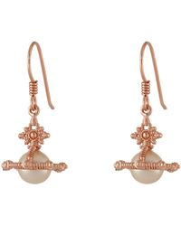 Vivienne Westwood Isolde Pearl Earrings - Lyst