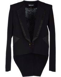 Just Cavalli Blazer black - Lyst