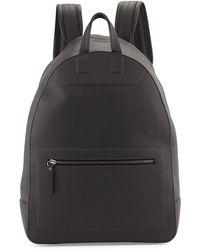 Maison Martin Margiela Matte Leather Backpack - Lyst