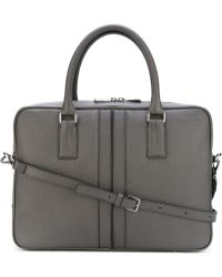 Tod's - Zipped Laptop Briefcase - Lyst