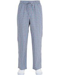 Brooks Brothers - Cotton Pyjama Set - Lyst