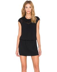 IKKS - Embroidered Dress - Lyst