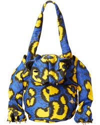 Vivienne Westwood Tiger Bag With Paws In Leopard Print - Lyst