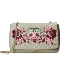 Love Moschino I Love Embroidery Shoulder Bag - Lyst