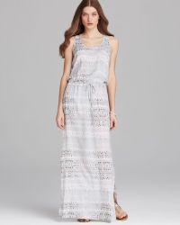 Karen Kane Beach Stripe Maxi Dress - Lyst