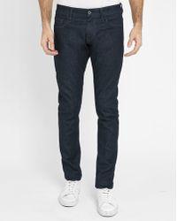 G-Star RAW | Raw Denim 3301 Deconstructed Super-slim Jeans | Lyst