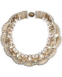 Tataborello - Carena Crystal Necklace - Lyst