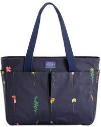 Joules - Carrie Garden Canvas Shoulder Bag - Lyst