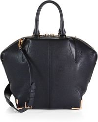 Alexander Wang Emile Small Leather Satchel - Lyst