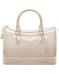 Furla Candy Satchel Bag - Lyst