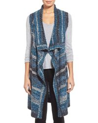 Curio - 'spacedye' Sweater Vest - Lyst
