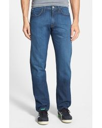 Agave | 'pragmatist Sandspit Supima Medium' Straight Leg Japanese Denim Jeans | Lyst