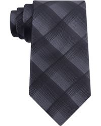 Elie Tahari Shadow Plaid Tie - Lyst