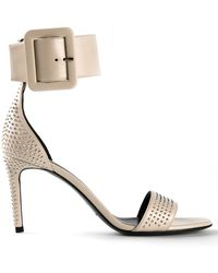 Saint Laurent Studded Sandal - Lyst