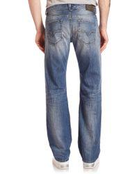 DIESEL | Larkee Sanded & Faded Jeans | Lyst