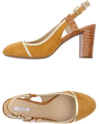 Geox Orange Pump - Lyst