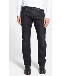 G-Star RAW Men'S 'Attacc Low' Straight Leg Jeans - Lyst