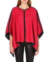 French Connection Whitney Wool Cape - Lyst