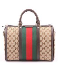 Gucci Borsa Vintage Web Bei - Lyst