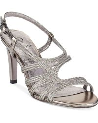 Adrianna Papell Amena Evening Sandals - Lyst