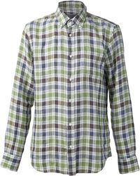 Vince Check Shirt - Lyst