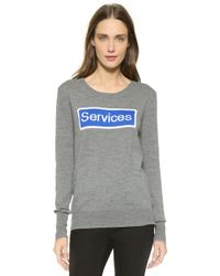 Anya Hindmarch - Pullover Services Jumper - Medium Grey - Lyst