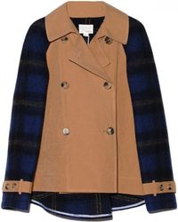 Band of Outsiders - Cotton and Windowpane Jacket - Lyst