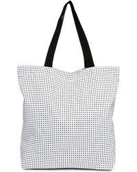Asos Polka Dot Nylon Shopper Bag - Lyst