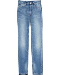 Maison Margiela Straight Leg Jeans - Lyst