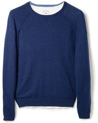Mango Long Raglan Sleeve Sweater - Lyst