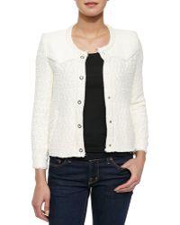 IRO Halston Textured Woven Jacket - Lyst