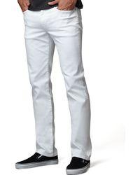 Joe's Jeans Brixton Optic White Jeans - Lyst
