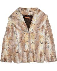 Alice + Olivia Annistyn Faux Fur Jacket - Lyst
