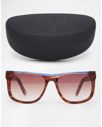 Consortium - Square Sunglasses - Lyst
