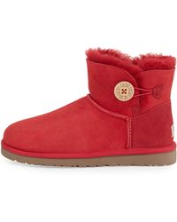 Ugg Mini Bailey Buttoned Boot - Lyst