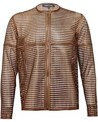 Damir Doma Mens Tong Perforated Top - Lyst