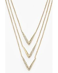 Alexis Bittar 'Miss Havisham' Multistrand Necklace - Lyst