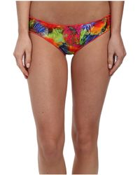 Luli Fama Mundo De Colores Full Ruched Back Bottom - Lyst
