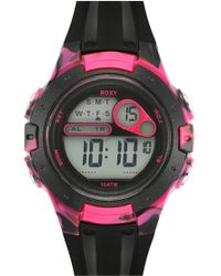 Roxy - 'the Tour' Chronograph Digital Sports Watch - Lyst