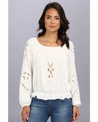Free People Fpx Jewel Blouse - Lyst