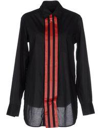 Y-3 Shirt black - Lyst